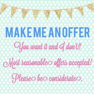 Make an offer! I dont bite!